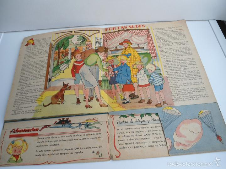 Libros de segunda mano: MARI-PEPA EN EL PAIS DE LA NIEBLA - MARIA CLARET & EMILIA COTARELO - PORTADAS COMPLETAS - Foto 7 - 56553884