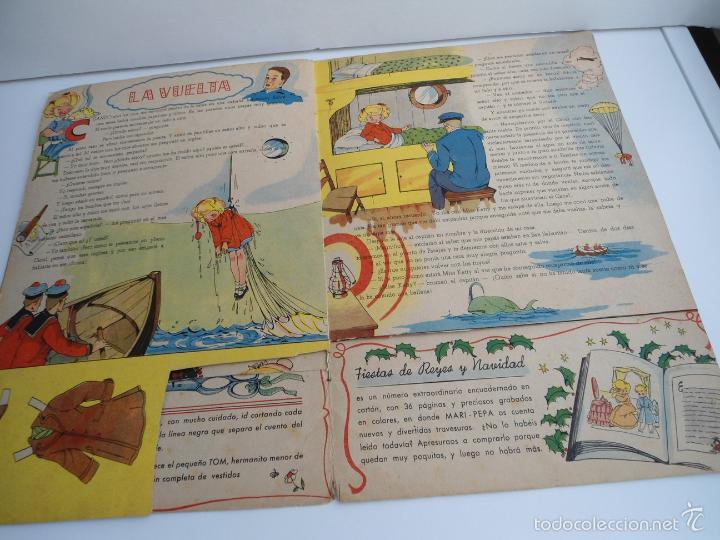 Libros de segunda mano: MARI-PEPA EN EL PAIS DE LA NIEBLA - MARIA CLARET & EMILIA COTARELO - PORTADAS COMPLETAS - Foto 8 - 56553884