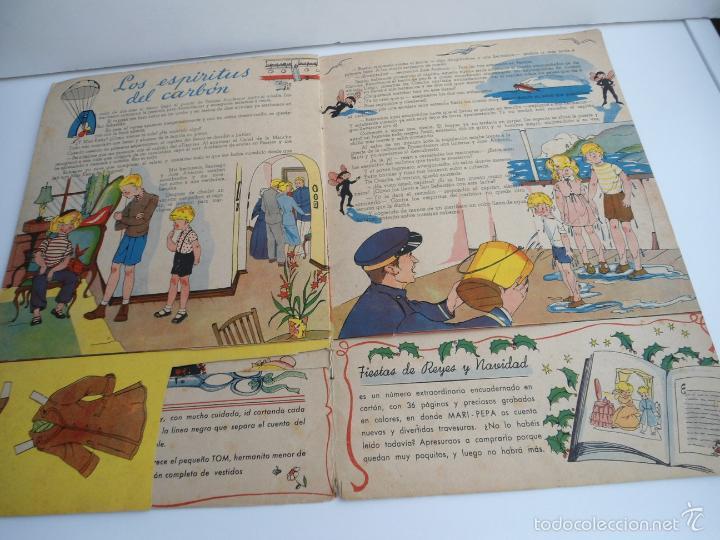 Libros de segunda mano: MARI-PEPA EN EL PAIS DE LA NIEBLA - MARIA CLARET & EMILIA COTARELO - PORTADAS COMPLETAS - Foto 9 - 56553884