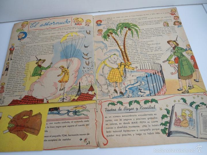 Libros de segunda mano: MARI-PEPA EN EL PAIS DE LA NIEBLA - MARIA CLARET & EMILIA COTARELO - PORTADAS COMPLETAS - Foto 10 - 56553884