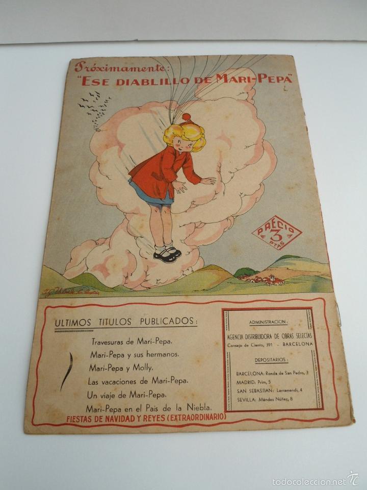 Libros de segunda mano: MARI-PEPA EN EL PAIS DE LA NIEBLA - MARIA CLARET & EMILIA COTARELO - PORTADAS COMPLETAS - Foto 11 - 56553884