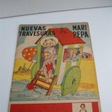 Libros de segunda mano: NUEVAS TRAVESURAS DE MARI-PEPA - MARIA CLARET & EMILIA COTARELO - PORTADAS COMPLETAS. Lote 56554113