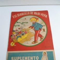 Libros de segunda mano: ESE DIABLILLO DE MARI-PEPA - MARIA CLARET & EMILIA COTARELO - CON RECORTABLE - COMPLETO. Lote 56554202