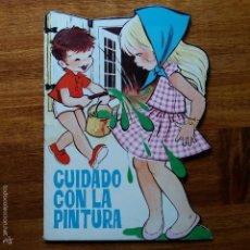 Libros de segunda mano: GRACIOSO CUENTO TROQUELADO INFANTIL CUIDADO CON LA CASA. Lote 57045129