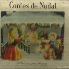 Libros de segunda mano: CONTES DE NADAL. ILUSTRACIONES PER JOAN FERRÁDIZ. EDITORIAL VILCAR. BARCELONA. 1959. Lote 57060245