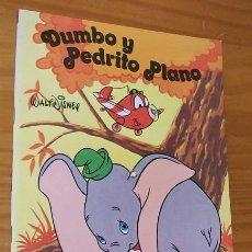 Libros de segunda mano - DUMBO Y PEDRITO PLANO. CUENTO MOVILIBRO WALT DISNEY INTEREDICIONES 1982 - 57128681