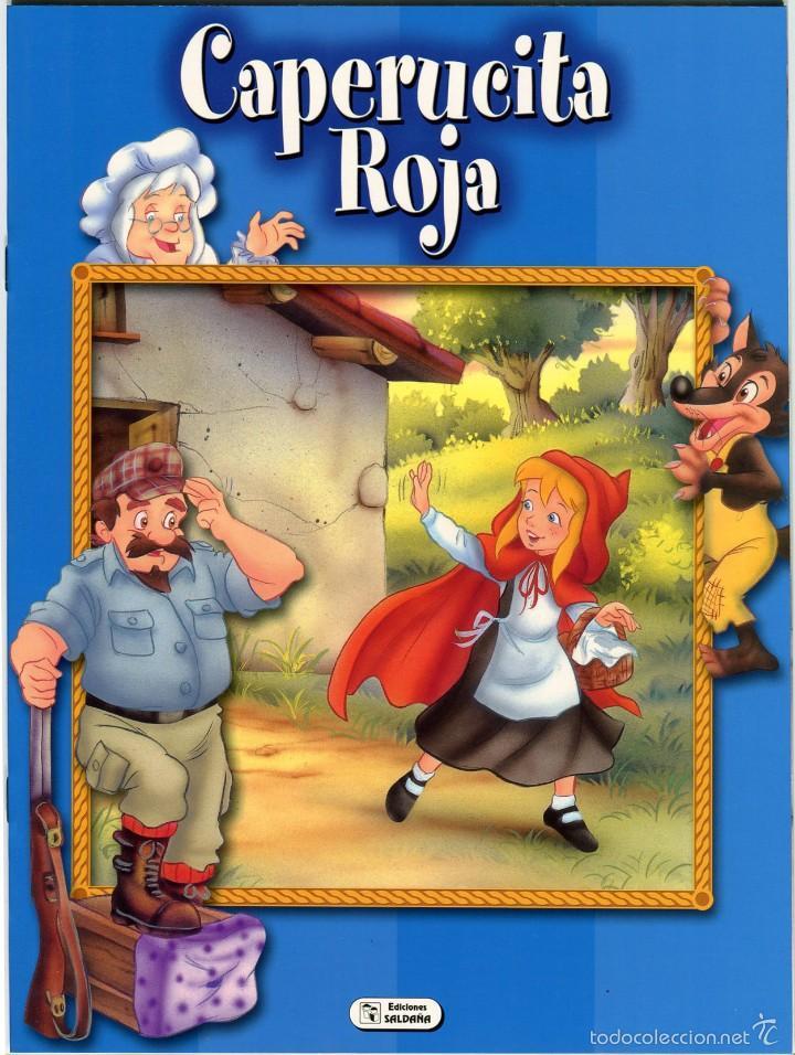 CAPERUCITA ROJA. EDICIONES SALDAÑA (Libros de Segunda Mano - Literatura Infantil y Juvenil - Cuentos)