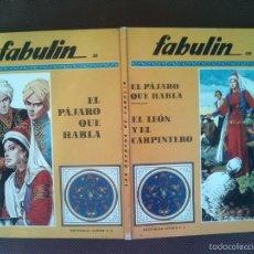 Libros de segunda mano: LIBRO COLECCION FABULIN CODEX 31/32 600 GRS . Lote 57219192