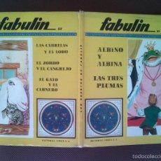 Libros de segunda mano: LIBRO COLECCION FABULIN CODEX 51/52 600 GRS 31X25 CMS . Lote 57219295