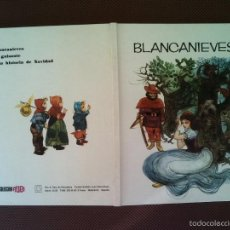 Libros de segunda mano: LIBRO CUENTOS BLANCANIEVES COLECCION RUBI 1970 29X22 CMS 450 GRS . Lote 57219363