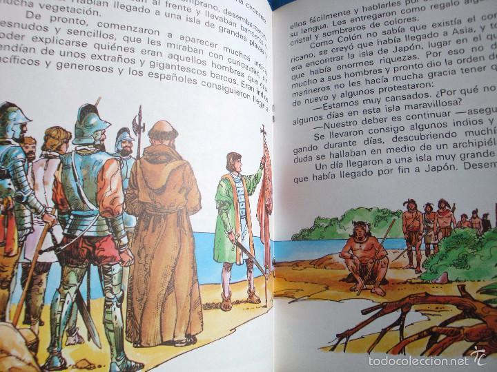 CUENTO CRISTOBAL COLON EL DESCUBRIMIENTO DE AMÉRICA SERIE LECTURAS EUROPA-EDIEXPORT 1982 NUEVO (Libros de Segunda Mano - Literatura Infantil y Juvenil - Cuentos)