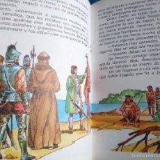 Libros de segunda mano: CUENTO CRISTOBAL COLON EL DESCUBRIMIENTO DE AMÉRICA SERIE LECTURAS EUROPA-EDIEXPORT 1982 NUEVO. Lote 57298383