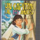 Libros de segunda mano: UN CAPITÁN DE 15 AÑOS / JULIO VERNE -ED. EDITORIAL GARZA 1984 -DIBUJOS: MARIA ROSA GARCIA. Lote 57305582