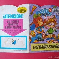 Libros de segunda mano: EXTRAÑO SUEÑO - TROQUELADOS AUTOESCUELA Nº 11 - BRUGUERA 1972 - DIBUJOS DE ALBERTO SOLSONA. Lote 103901306