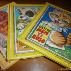 Libros de segunda mano: LOTE 3 LIBROS COLECCIÓN ALEGRES ANIMALES - Nº 1,5,6 - EL GATITO MENTIROSO, EL PERRITO DE LA SUERTE.. Lote 49477403