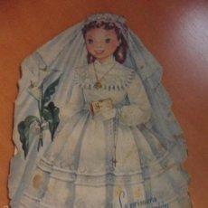 Libros de segunda mano: LA PRIMERA COMUNION DE JULITA. CUENTO TROQUELADO DE MARIA BLANCA GIL. ILUSTRADO POR MARIA EUGENIA. C. Lote 57394280