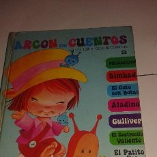 Libros de segunda mano: ARCON DE CUENTOS - EDITORIAL ROMA - 1979 - LIBRO CON 8 CUENTOS - Nº 2 -MUY DIFICL. Lote 57437633