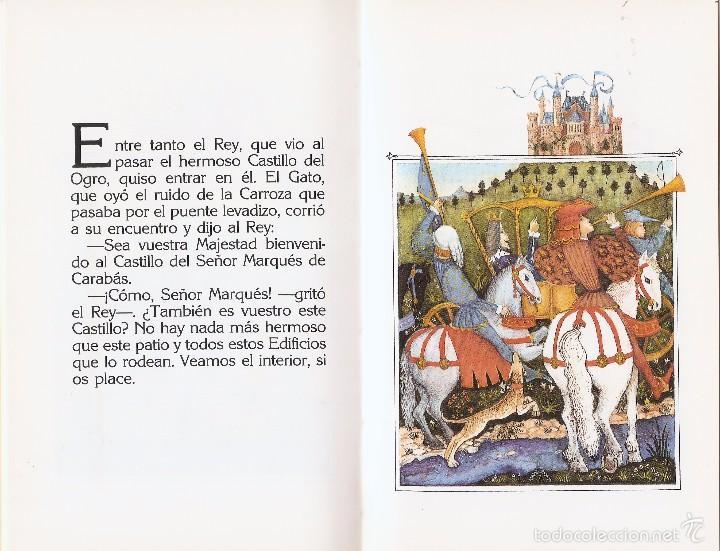 Libros de segunda mano: EL GATO CON BOTAS - CHARLES PERRAULT y MIJAIL FIÓDOROV - EDT. ANAYA, 1ª Ed. 1988. - Foto 2 - 57534379