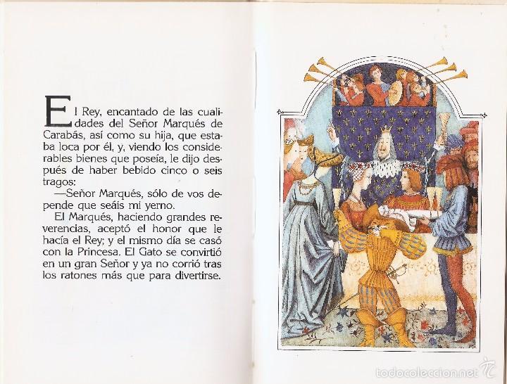 Libros de segunda mano: EL GATO CON BOTAS - CHARLES PERRAULT y MIJAIL FIÓDOROV - EDT. ANAYA, 1ª Ed. 1988. - Foto 3 - 57534379