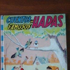 Libros de segunda mano: CUENTOS FAMOSOS DE HADAS.FHER 4.1968. Lote 57534918
