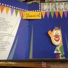 Libros de segunda mano: VAMOS AL CIRCO. BANCROFT & CO. 1965. CUENTO CON MOVIMIENTO, BASTANTE BIEN CONSERVADO.. Lote 57570633