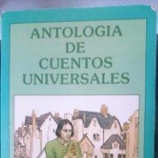 Libros de segunda mano: ANTOLOGIA DE CUENTOS UNIVERSALES ---- REFM1E2. Lote 57583724