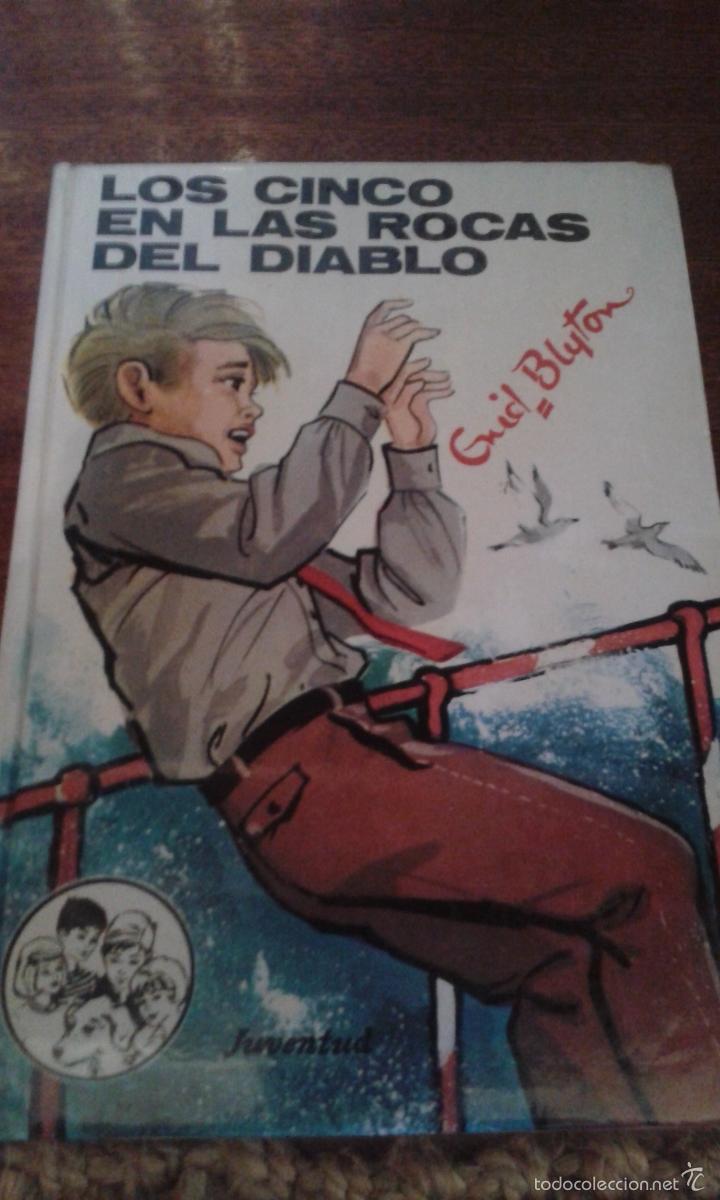 LOS CINCO EN LAS ROCAS DEL DIABLO - ENID BLYTON (Libros de Segunda Mano - Literatura Infantil y Juvenil - Cuentos)