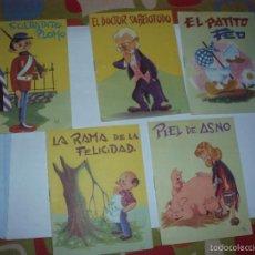Libros de segunda mano: LOTE 5 CUENTOS CUENTITOS LUSA. Lote 203796456
