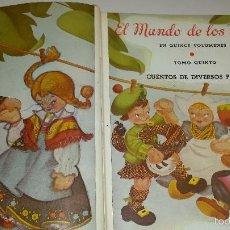 Libros de segunda mano: EL MUNDO DE LOS NIÑOS (VOL 5) CUENTOS DE DIVERSOS PAISES. Lote 57808573