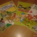 Libros de segunda mano: CLUB DEL LIBRO - MICKEY - EL LIBRO DE LA SELVA-LOS 3 CERDITOS-LA DAMA Y EL VAGABUNDO-BAMBI. Lote 57849299