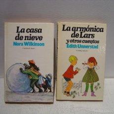 Libros de segunda mano: LA CASA DE NIEVE - LA ARMÓNICA DE LARS - COLECCION EL ALEGRE ARCO IRIS PLANETA INFANTIL. Lote 57889072