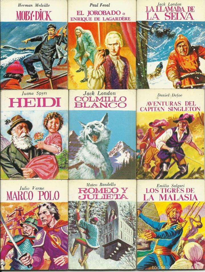 OCASION COLECCION DE 33 MINILIBROS DE LA MINIBIBLIOTECA DE LA LITERATURA UNIVERSAL 1982 PETETE FOTOS (Libros de Segunda Mano - Literatura Infantil y Juvenil - Cuentos)