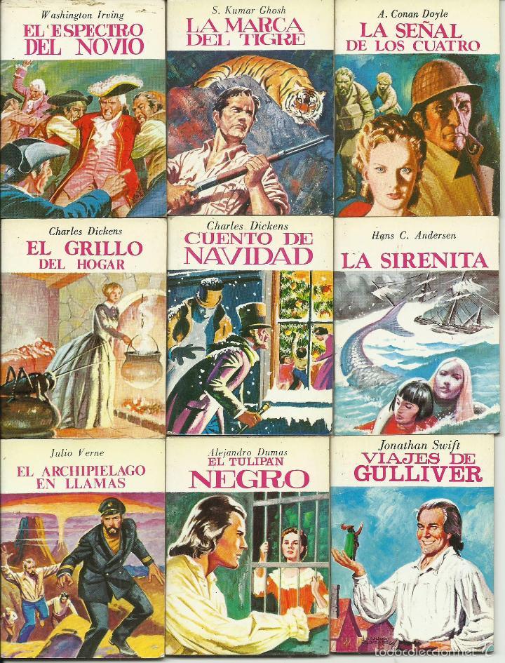 Libros de segunda mano: ocasion coleccion de 33 minilibros de la Minibiblioteca de la Literatura Universal 1982 Petete fotos - Foto 2 - 57931929