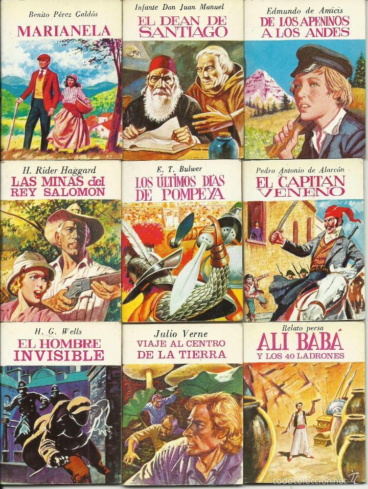 Libros de segunda mano: ocasion coleccion de 33 minilibros de la Minibiblioteca de la Literatura Universal 1982 Petete fotos - Foto 3 - 57931929