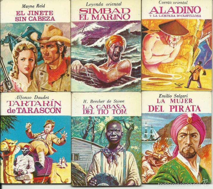 Libros de segunda mano: ocasion coleccion de 33 minilibros de la Minibiblioteca de la Literatura Universal 1982 Petete fotos - Foto 4 - 57931929