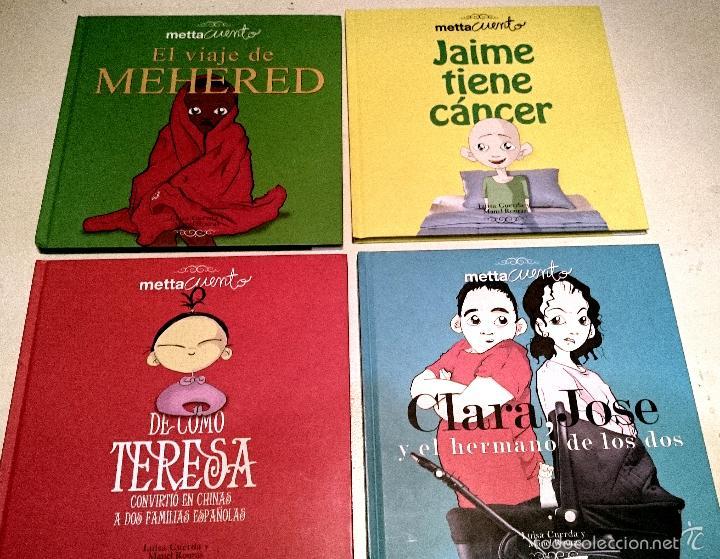 METTACUENTOS - CUENTOS PARA EXPLICAR LA VIDA - 4 VOLUMENES (Libros de Segunda Mano - Literatura Infantil y Juvenil - Cuentos)