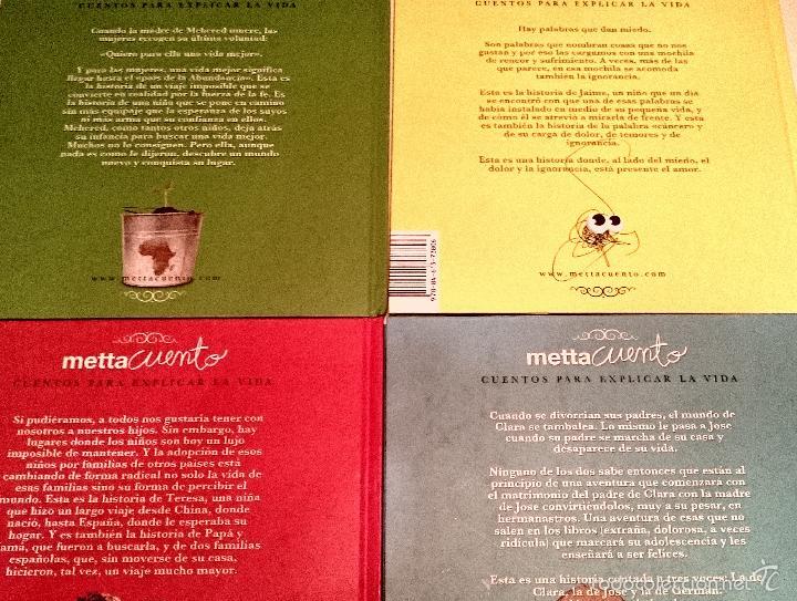 Libros de segunda mano: Mettacuentos - cuentos para explicar la vida - 4 volumenes - Foto 3 - 57980528