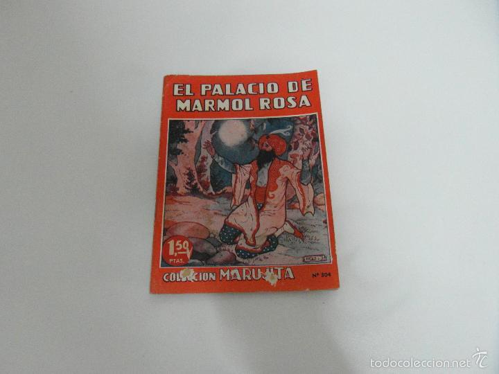 EL PALACIO DE MARMOL ROSA COLECCION MARUJITA 1949 - NUMERO 304 - EDICIONES MOLINO (Libros de Segunda Mano - Literatura Infantil y Juvenil - Cuentos)