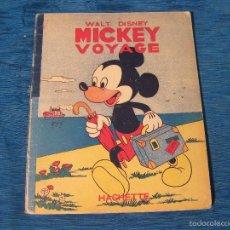 Libros de segunda mano: CUENTO DE MICKEY MOUSE. MICKEY VOYAGE. WALT DISNEY 1948. Lote 58031933