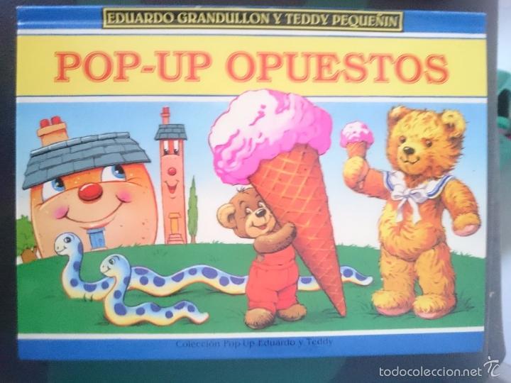 EDUARDO GRANDULLON Y TEDDY PEQUEÑIN - POP-UP OPUESTOS -REFM1E3 (Libros de Segunda Mano - Literatura Infantil y Juvenil - Cuentos)