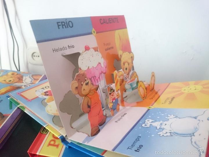 Libros de segunda mano: EDUARDO GRANDULLON Y TEDDY PEQUEÑIN - POP-UP OPUESTOS -RefM1E3 - Foto 2 - 58069097
