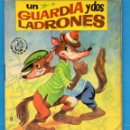 Libros de segunda mano: PEQUEÑOS LIBROS LIBRITOS - COL. MINIEVA MINI-EVA ED. VASCO AMERICANA - UN GUARDIA Y DOS LADRO - 1974. Lote 58092145
