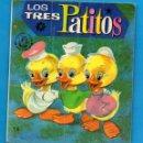 Libros de segunda mano: PEQUEÑOS LIBROS LIBRITOS - COL. MINIEVA MINI-EVA ED. VASCO AMERICANA - LOS TRES PATITOS Nº14 - 1974. Lote 58094553
