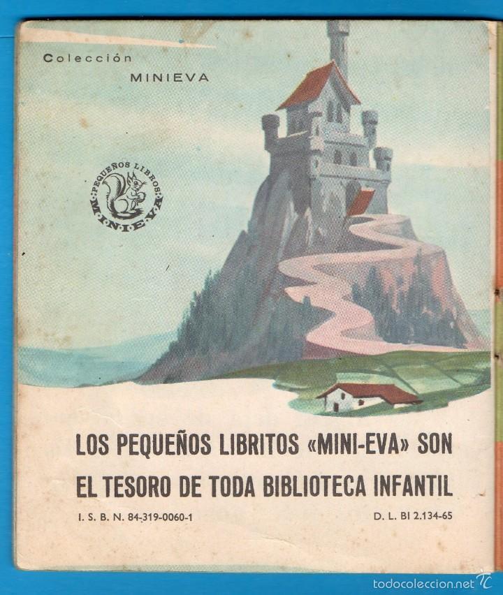 Libros de segunda mano: PEQUEÑOS LIBROS LIBRITOS - COL. MINIEVA MINI-EVA ED. VASCO AMERICANA - LOS TRES PATITOS Nº14 - 1974 - Foto 3 - 58094553