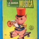Libros de segunda mano: PEQUEÑOS LIBROS LIBRITOS - COL. MINIEVA MINI-EVA ED. VASCO AMERICANA - LA BANDA DE MUSICA N16 - 1974. Lote 58094619