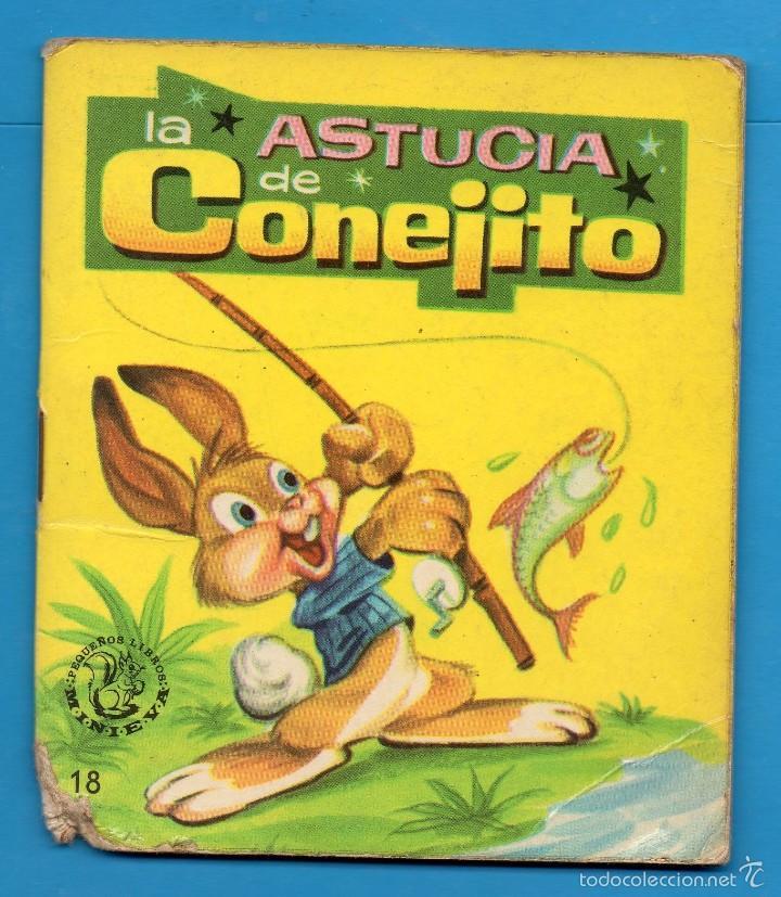 PEQUEÑOS LIBROS LIBRITOS - COL. MINIEVA MINI-EVA ED. VASCO AMERICANA - LA ASTUCIA DE CONEJITO - 1974 (Libros de Segunda Mano - Literatura Infantil y Juvenil - Cuentos)