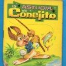 Libros de segunda mano: PEQUEÑOS LIBROS LIBRITOS - COL. MINIEVA MINI-EVA ED. VASCO AMERICANA - LA ASTUCIA DE CONEJITO - 1974. Lote 58094695