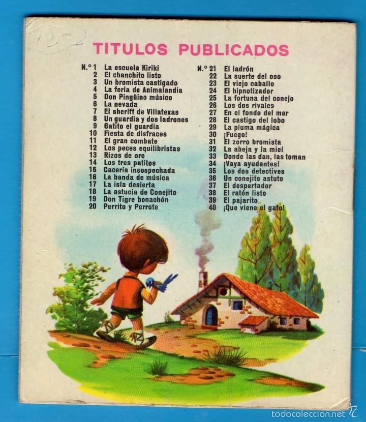 Libros de segunda mano: PEQUEÑOS LIBROS LIBRITOS - COL. MINIEVA MINI-EVA ED. VASCO AMERICANA - LA ASTUCIA DE CONEJITO - 1974 - Foto 2 - 58094695