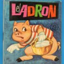 Libros de segunda mano: PEQUEÑOS LIBROS LIBRITOS - COL. MINIEVA MINI-EVA ED. VASCO AMERICANA - EL LADRON Nº21 - 1974. Lote 58094724