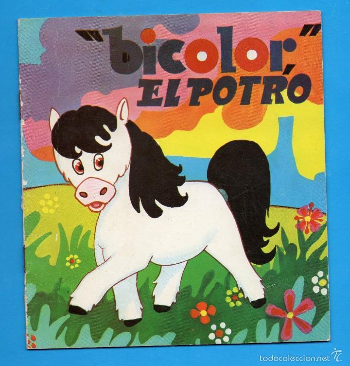 CUENTO COLECCIÓN COMETA ROJA - **BICOLOR, EL POTRO** Nº33 - ED.EVEREST - AÑOS 60 (Libros de Segunda Mano - Literatura Infantil y Juvenil - Cuentos)